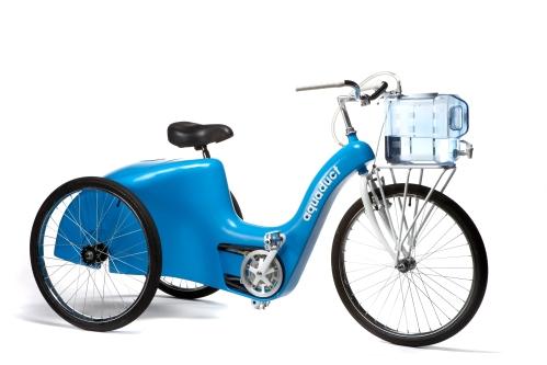 """Das Fahrrad """"Aquaduct"""""""
